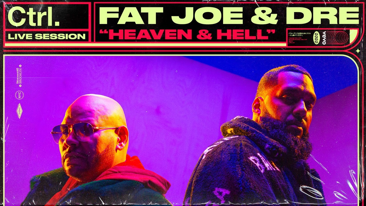 "Rapper Fat Joe shares Vevo Ctrl performance video ""Heaven & Hell"" & ""Yes"""