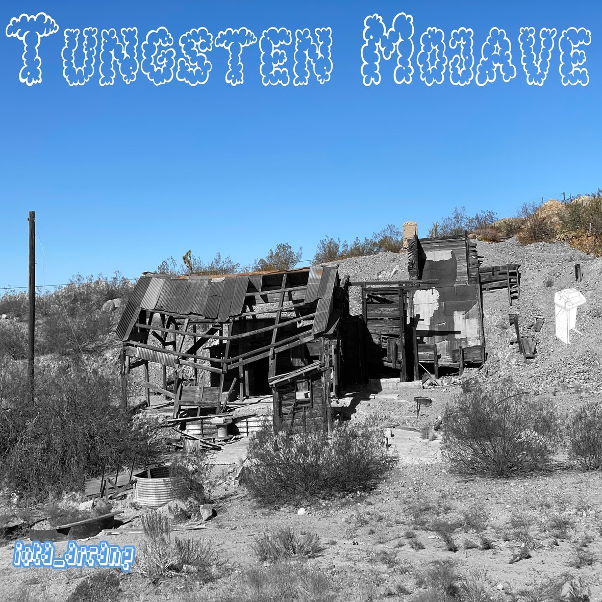 "Los Angeles' producer / rapper iota_arcane presents his latest album ""Tungsten Mojave"""