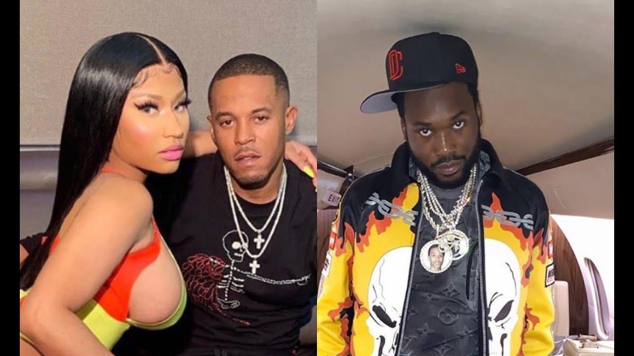 Meek Mill gets into Huge Shouting match w/ Nicki Minaj and her Husband 'BIG ZOO' in LA.