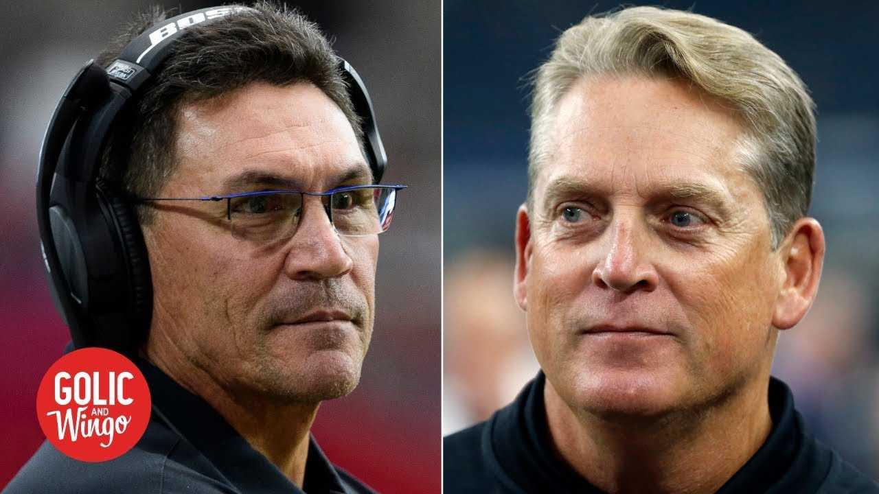 Ron Rivera hires Jack Del Rio as the Redskins' defensive coordinator | Golic and Wingo