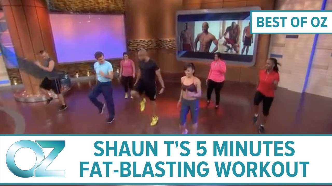 Shaun T's 5-Minute Fat-Blasting Workout – Best of Oz Collection
