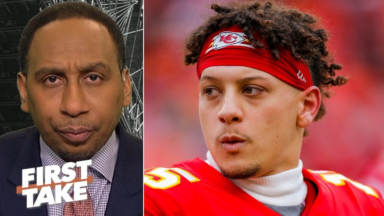 Stephen A. won't feel the same about Patrick Mahomes if the Chiefs lose to the Titans | First Take