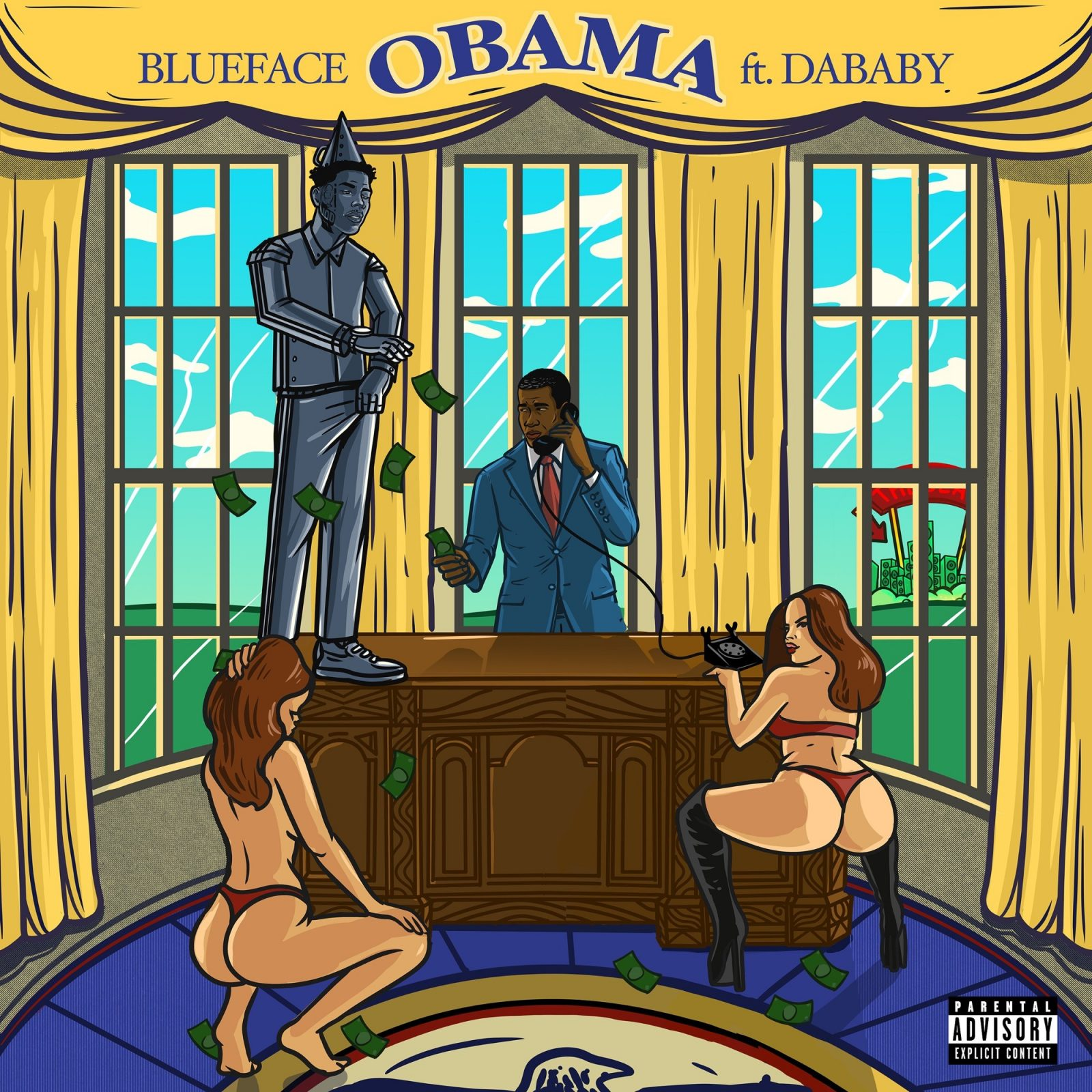 Blueface – Obama (feat. DaBaby)