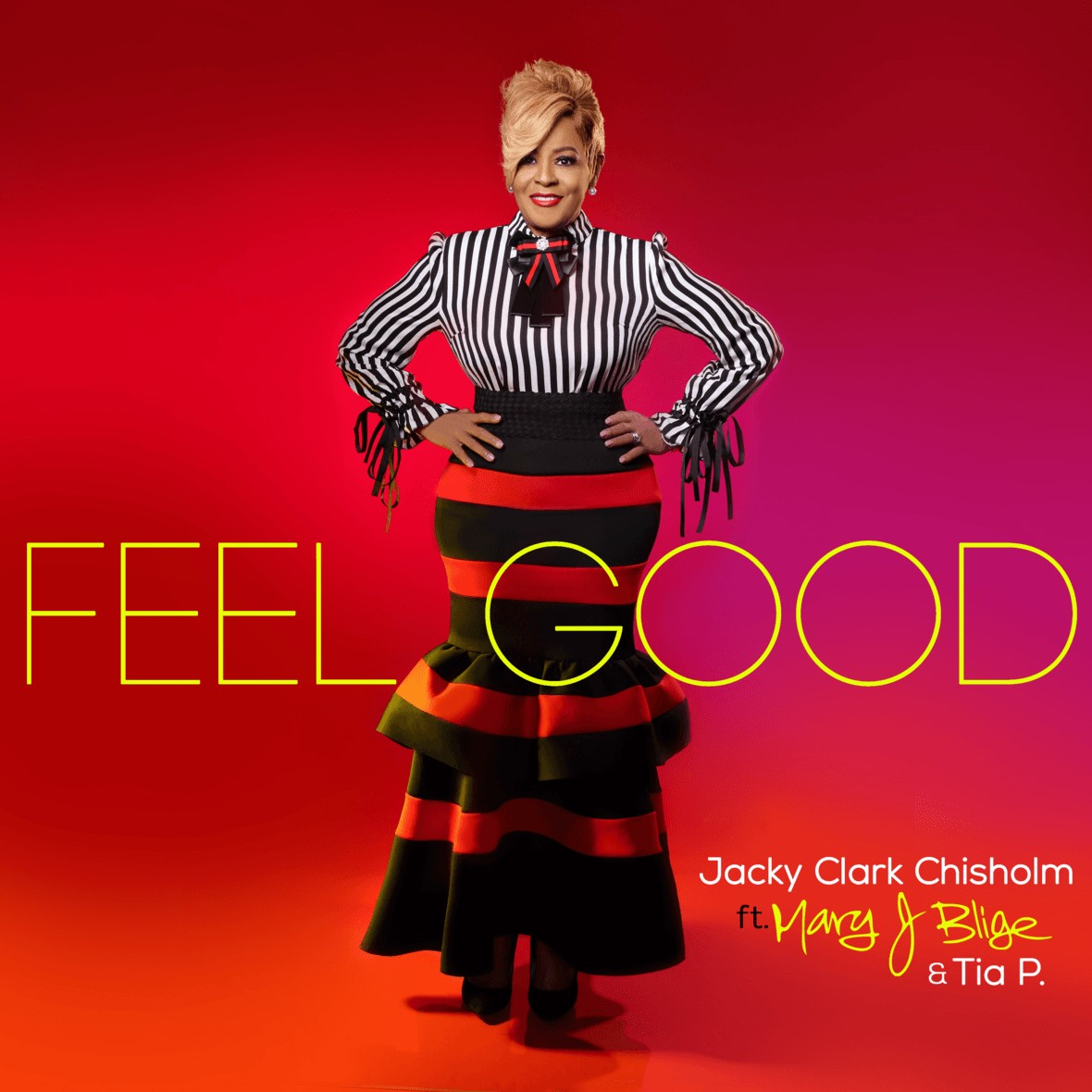 "Grammy Winners Mary J. Blige and Jacky Clark-Chisholm ""Feel Good"""