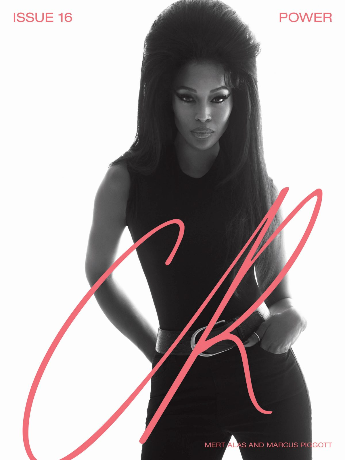 NAOMI CAMPBELL COVERS ISSUE #16 OF CR FASHION BOOK