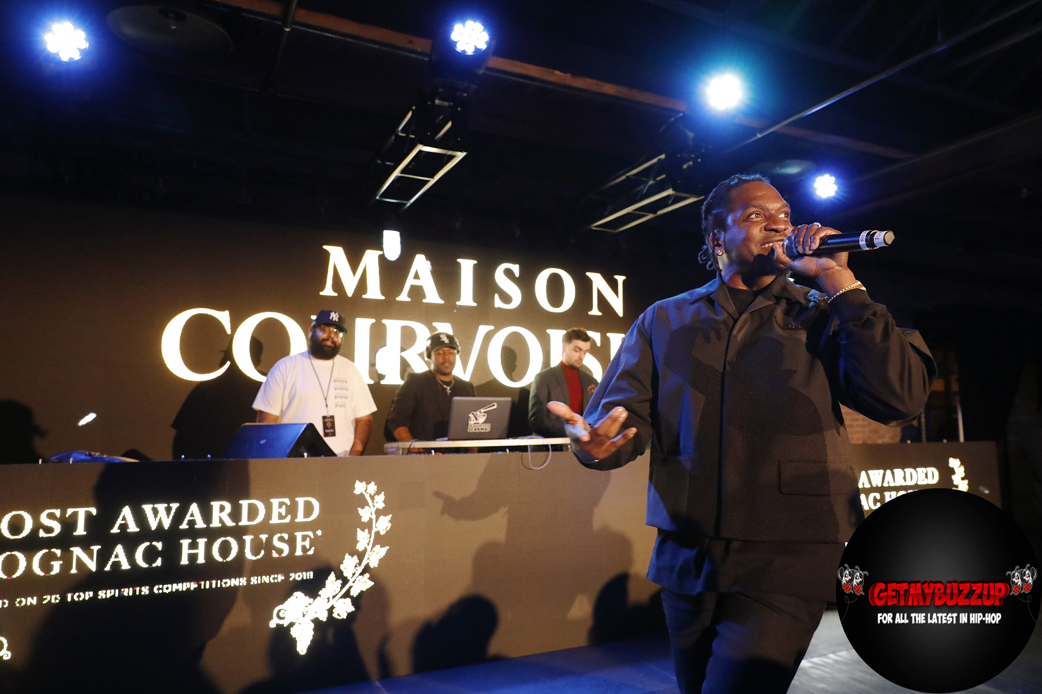 Celeb Sightings: Courvoisier Cognac hosts Maison Courvoisier Experience with Pusha-T