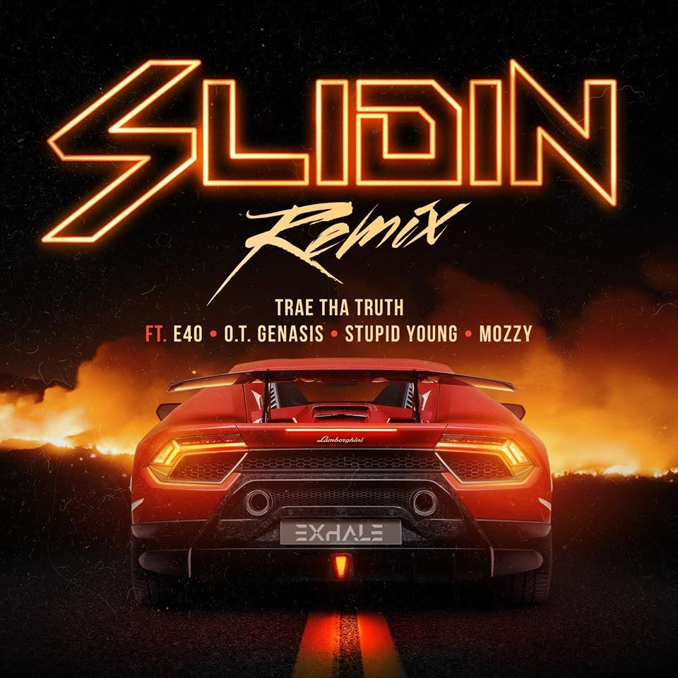 "Trae The Truth – ""Slidin"" Remix"
