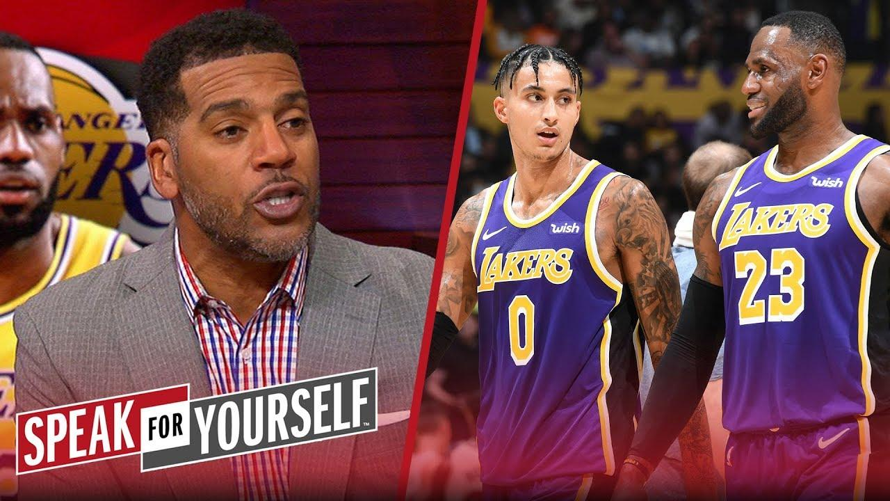 Jim Jackson to Kyle Kuzma: 'Be patient. LeBron won't be there forever'   NBA   SPEAK FOR YOURSELF