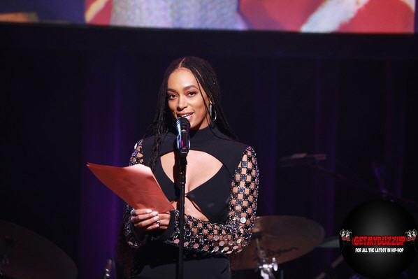 Solange Knowles Accepts First-Ever Lena Horne Prize at the Town Hall
