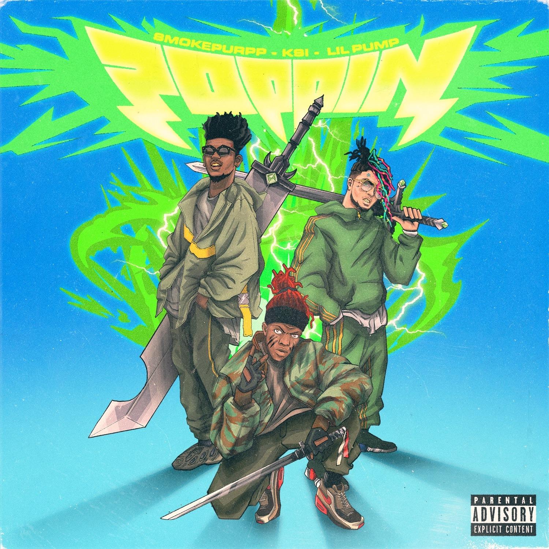 KSI – Poppin (feat. Lil Pump & Smokepurpp)