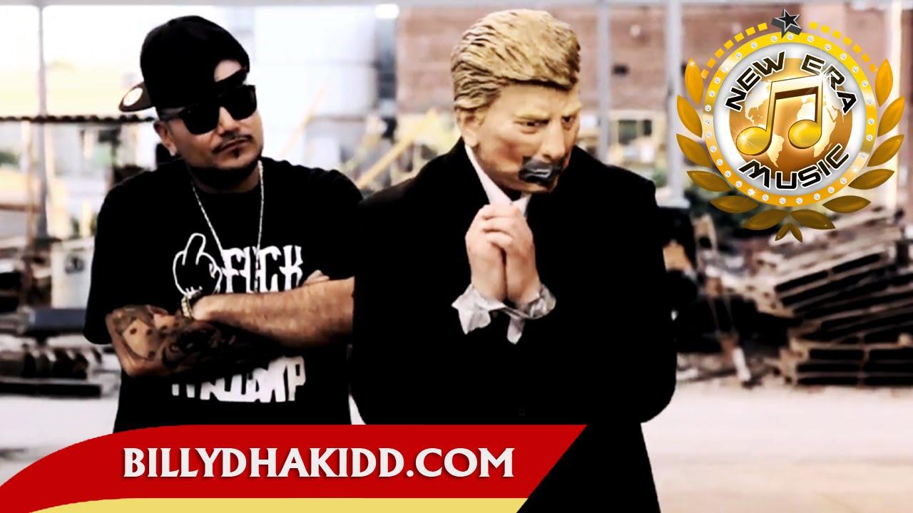 Billy Dha Kidd – F*ck Donald Trump [Music Video]