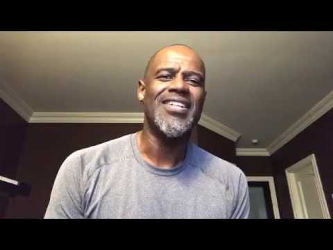 """Brian Mcknight Covers """"I Have Nothing"""" from Whitney Houston [Interview]"""