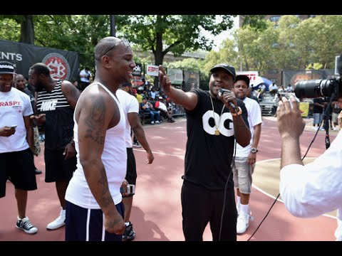 Cam'ron, Sway & Greg Marius at Rucker Park [Interview]