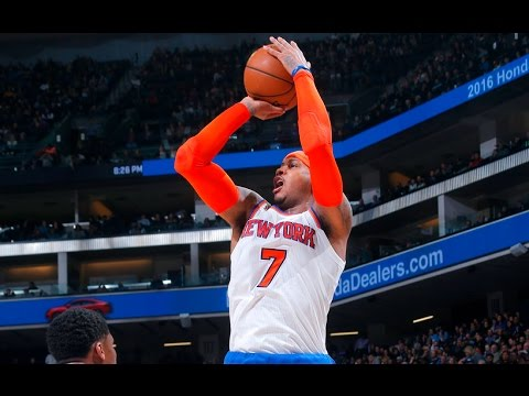 Carmelo Anthony Drops 33 to Lead Knicks Past Kings [Sports]