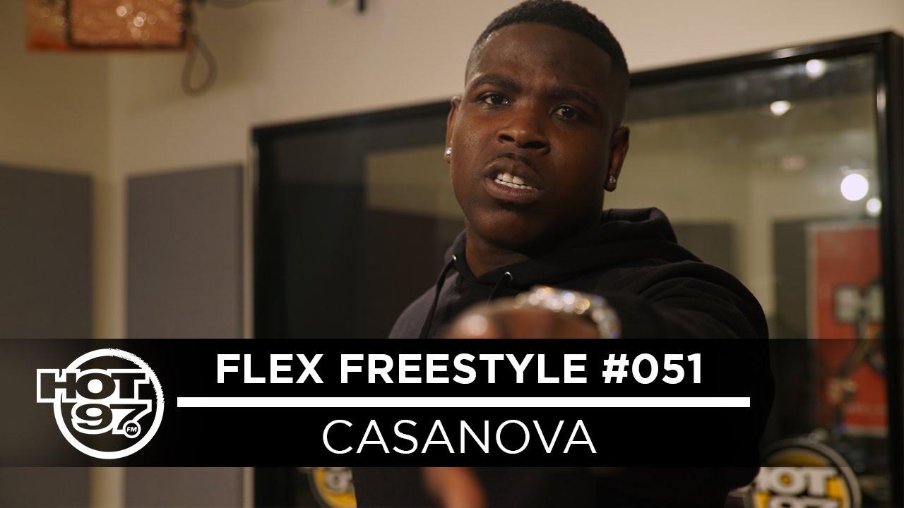 Casanova Freestlying Live on Funk Flex #Freestyle051 [Video]
