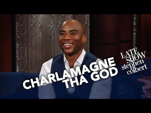"Charlamagne Tha God Talks New Book ""Black Privilege"" with Stephen Colbert [Interview]"