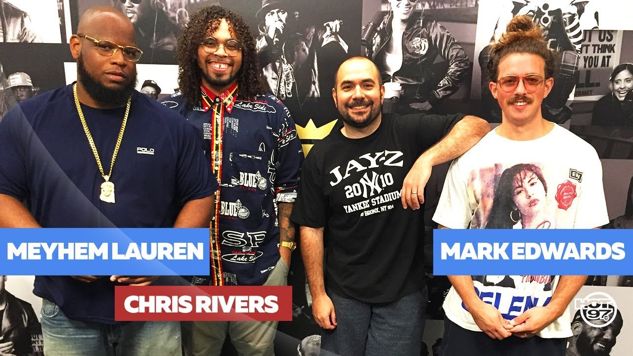 Chris Rivers & Meyhem Lauren Freestyle Live on Hot 97