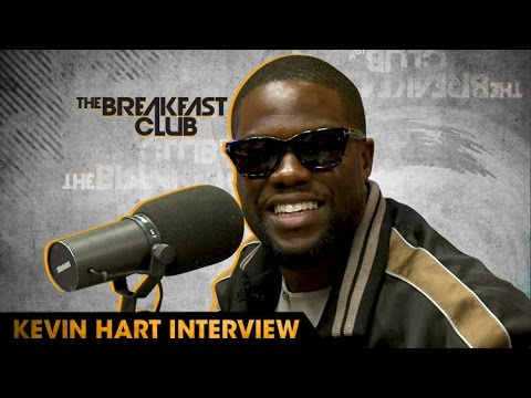 Comedian Kevin Hart Confirms If Wife Is Pregnant on The Breakfast Club [Interview]