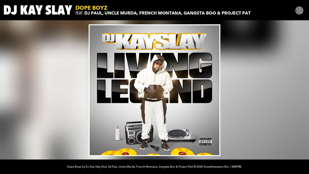 DJ Kay Slay – Dope Boyz (Audio) (feat. Dj Paul, Uncle Murda, French Montana, & more)
