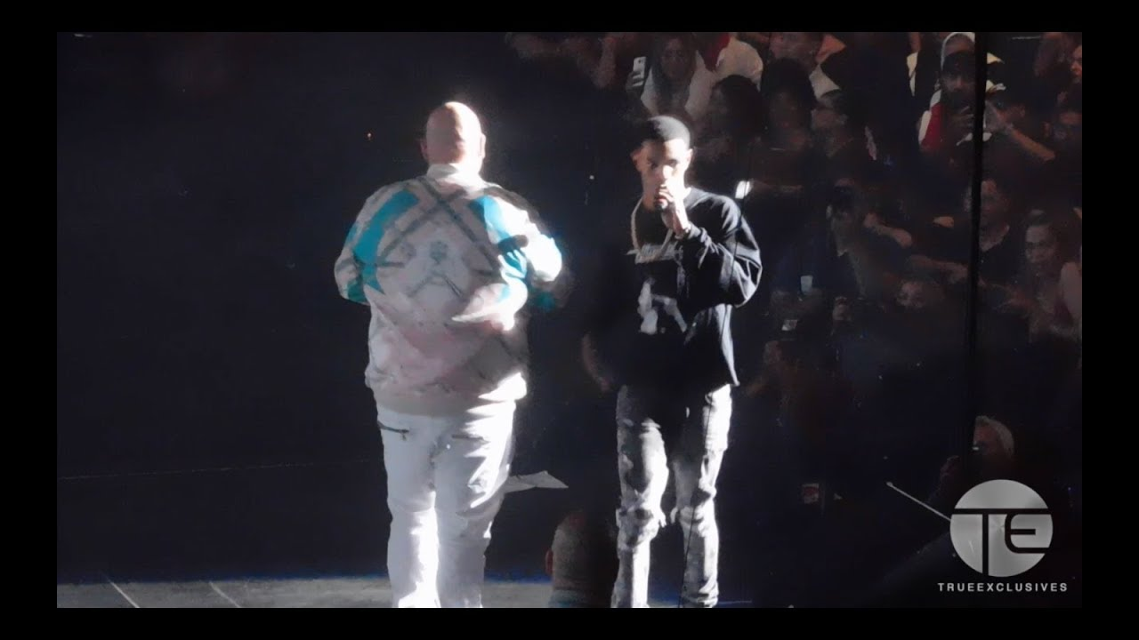Fat Joe Brings Out A Boogie & Tony Sunshine at MSG