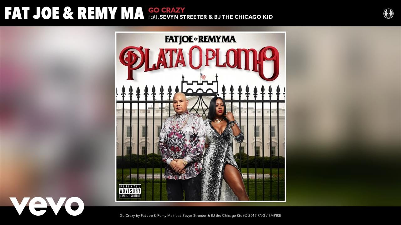 "Fat Joe, Remy Ma – ""Go Crazy"" Ft. Sevyn Streeter, BJ the Chicago Kid [Audio]"