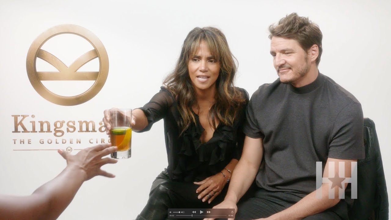 Halle Berry Urges Jasmine Simpkins To Down Glass Of Whiskey
