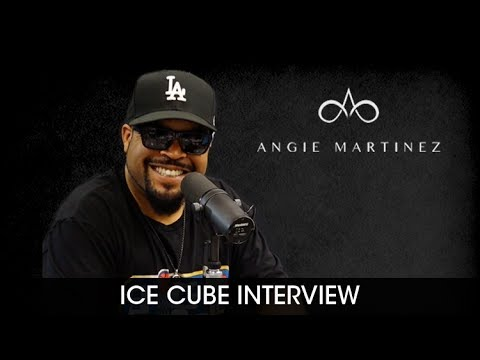 Ice Cube Talks Bill Maher, Passing of Prodigy with Angie Martinez [Interview]