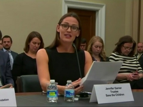 Jennifer Garner calls for Congress to boost education funds [Video]