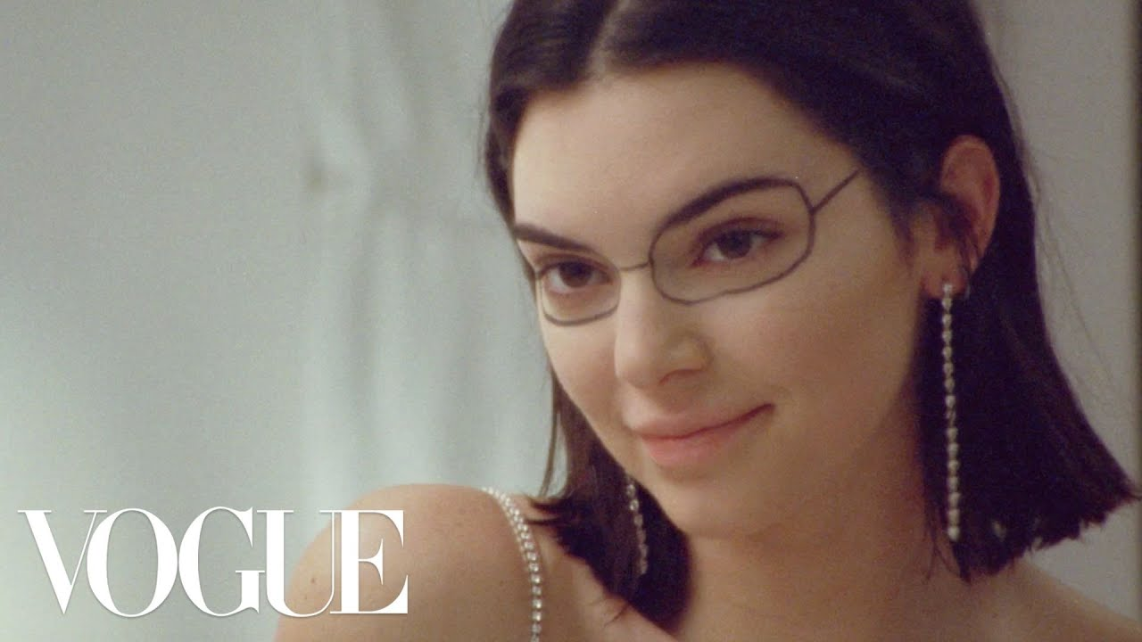 Kendall Jenner Gets Creative with a Brow Pen | Vogue [Interview]