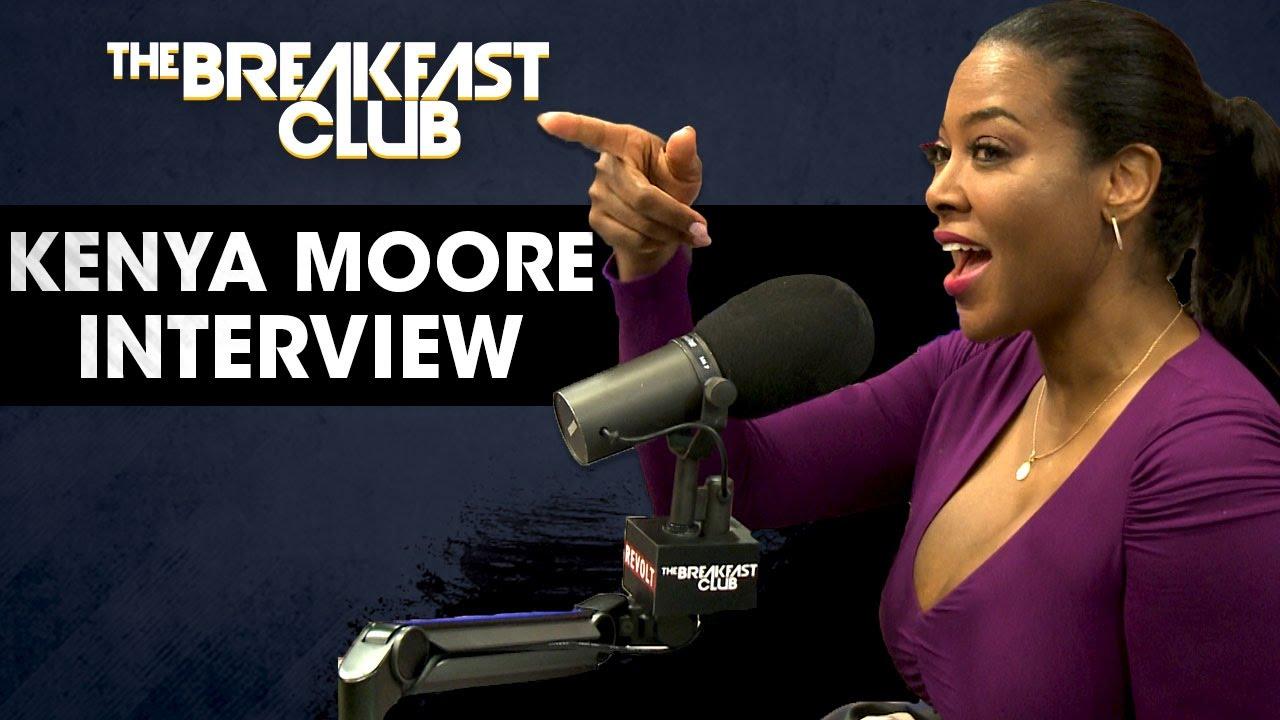 Kenya Moore Talks Phaedra Parks with The Breakfast Club