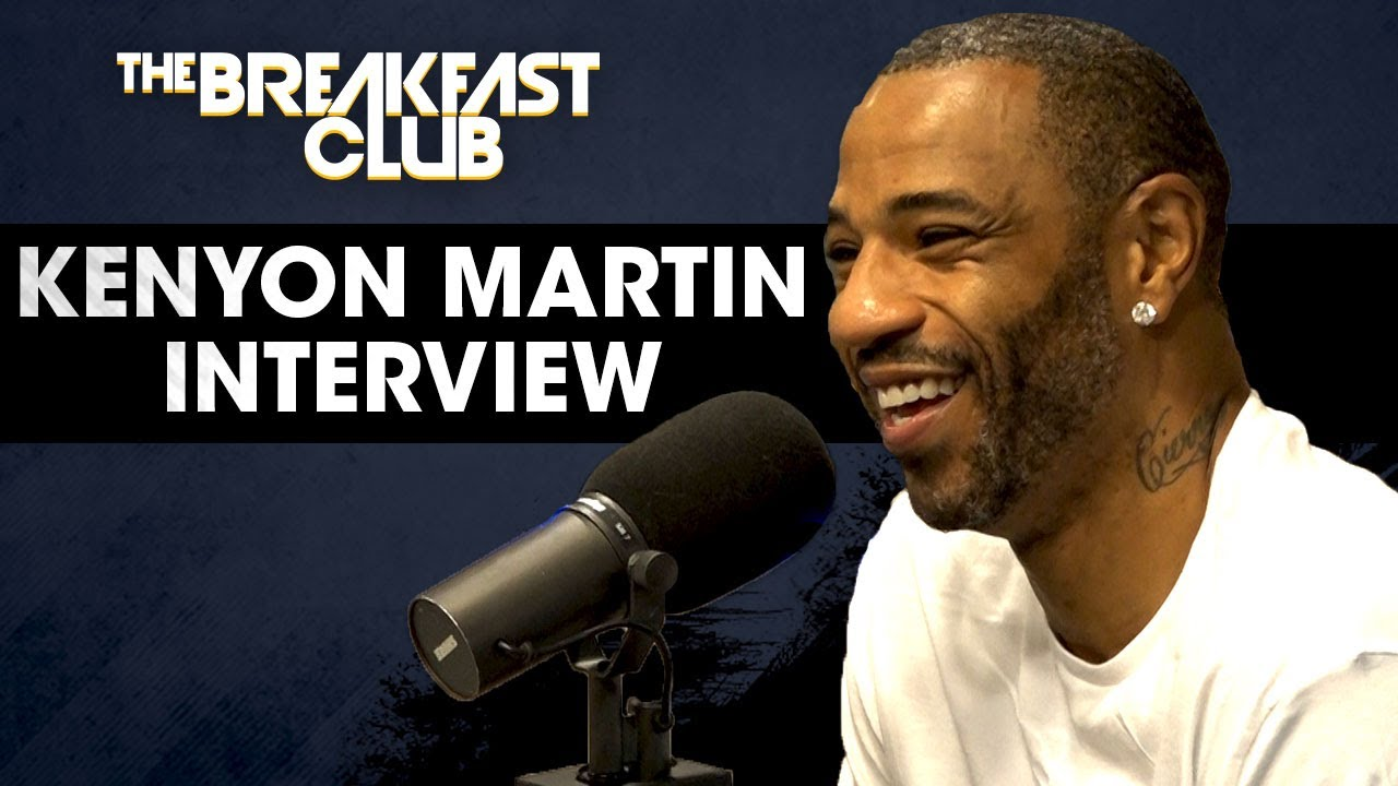Kenyon Martin On Playing In The BIG3 on The Breakfast Club [Interview]