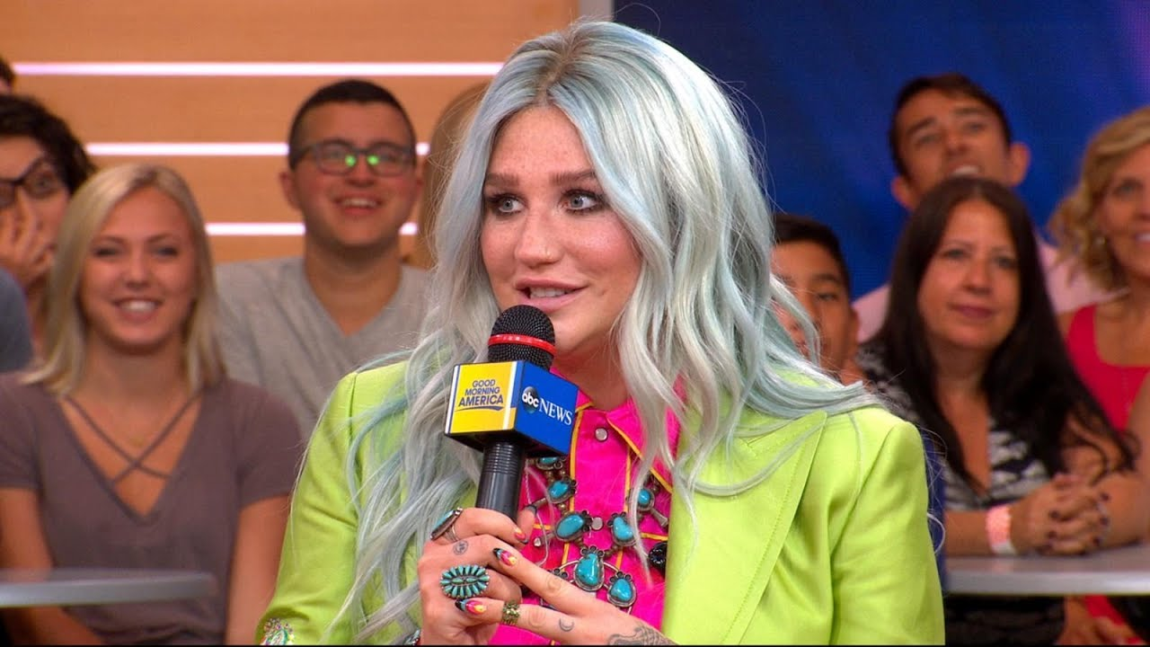 Kesha Talks About Her New Album with Robin Roberts