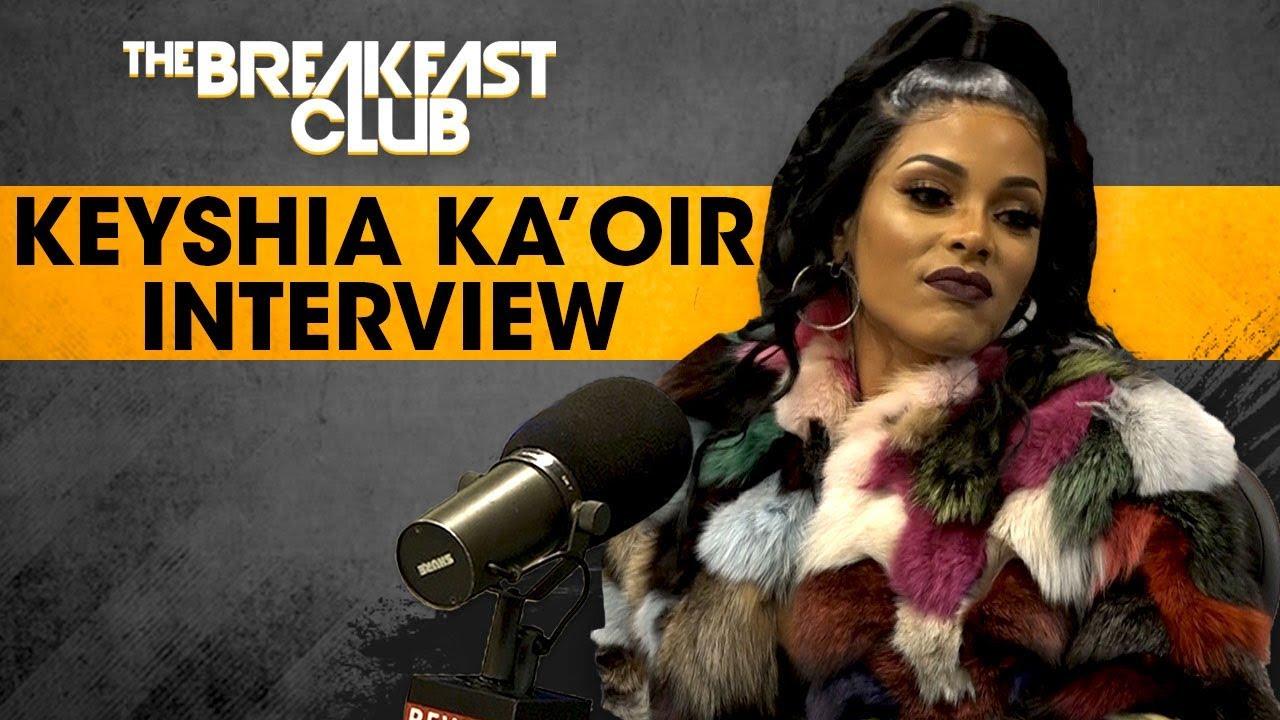 Keyshia Ka'oir Talks Gucci Mane, Staying With Him Through Prison