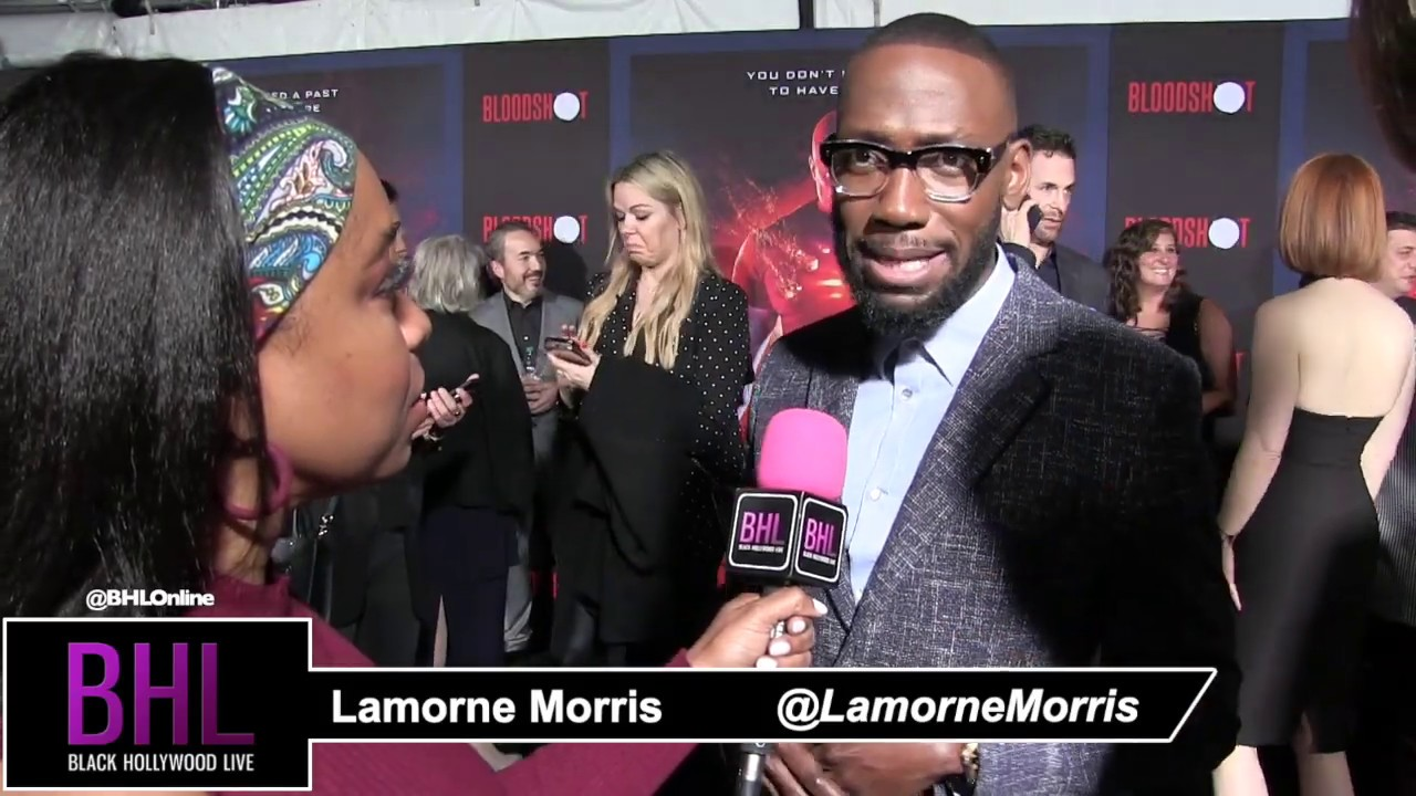 "Lamorne Morris at the LA premiere of ""Bloodshot"""