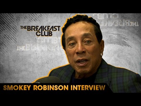 Legendary Singer Smokey Robinson Speaks on How He Got His Name, Motown with The Breakfast Club [Interview]