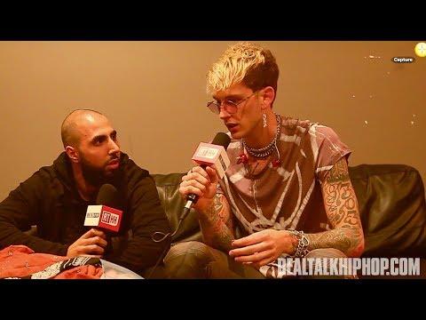 Machine Gun Kelly Talks Kid Cudi Beef & Wiz Khalifa
