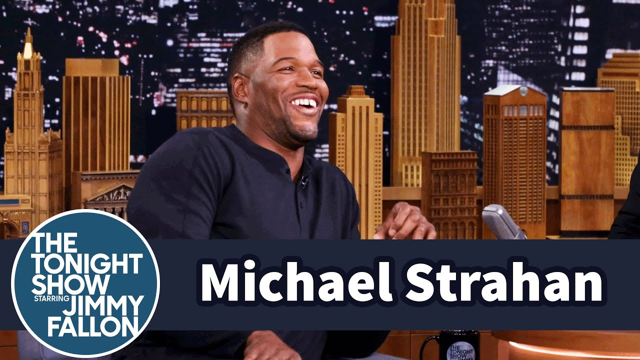 Michael Strahan on The Tonight Show Starring Jimmy Fallon [Interview]