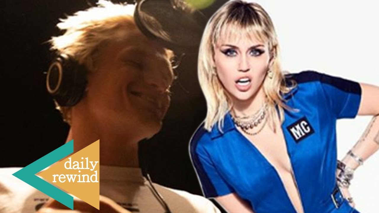 Miley Cyrus REVEALS She FLASHES Cody Simpson To Help Him During Studio Recording Session! | DR