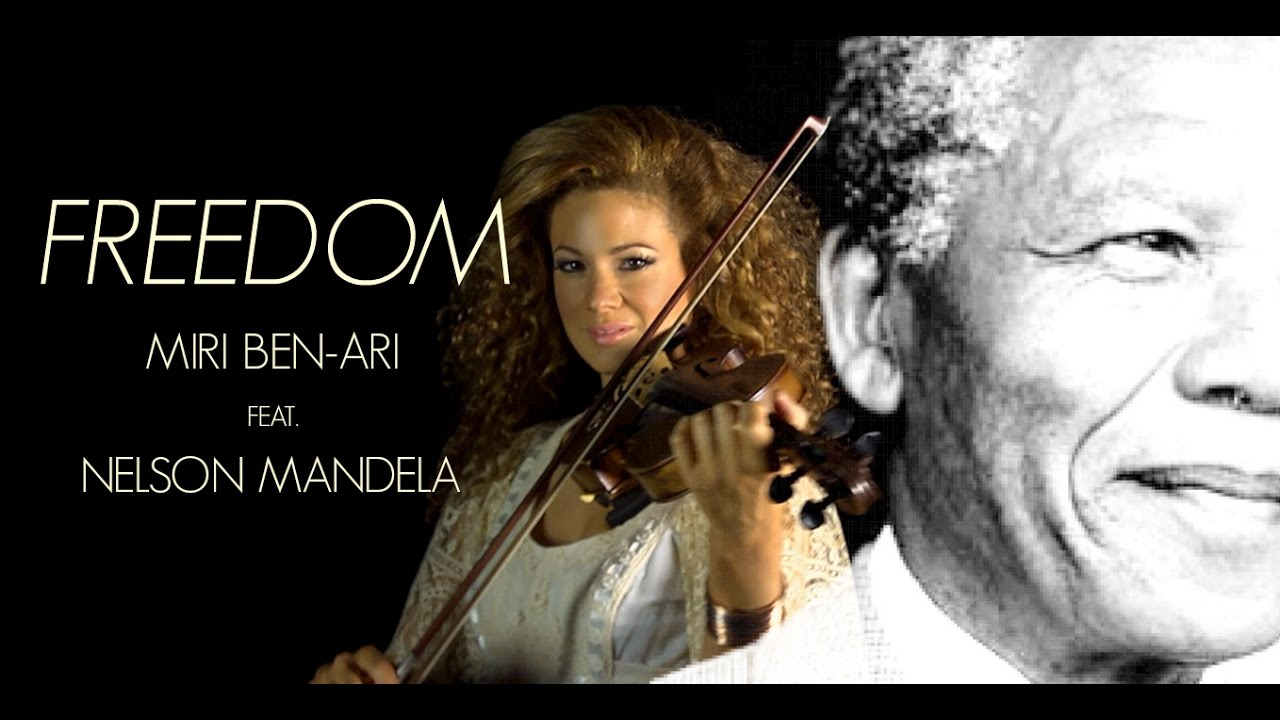 "Miri Ben-Ari Honors Nelson Mandela with ""Freedom"" [Video]"