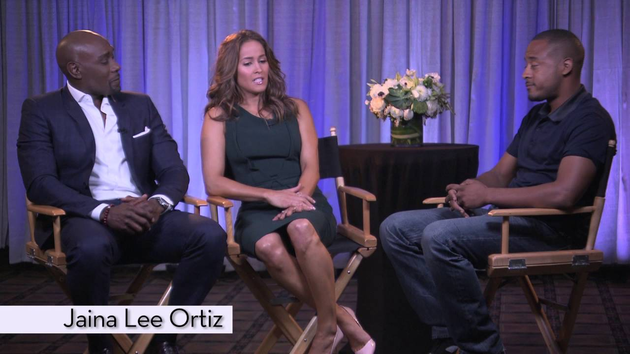 Morris Chestnut & Jaina Lee Ortiz on the show Rosewood [Interview]
