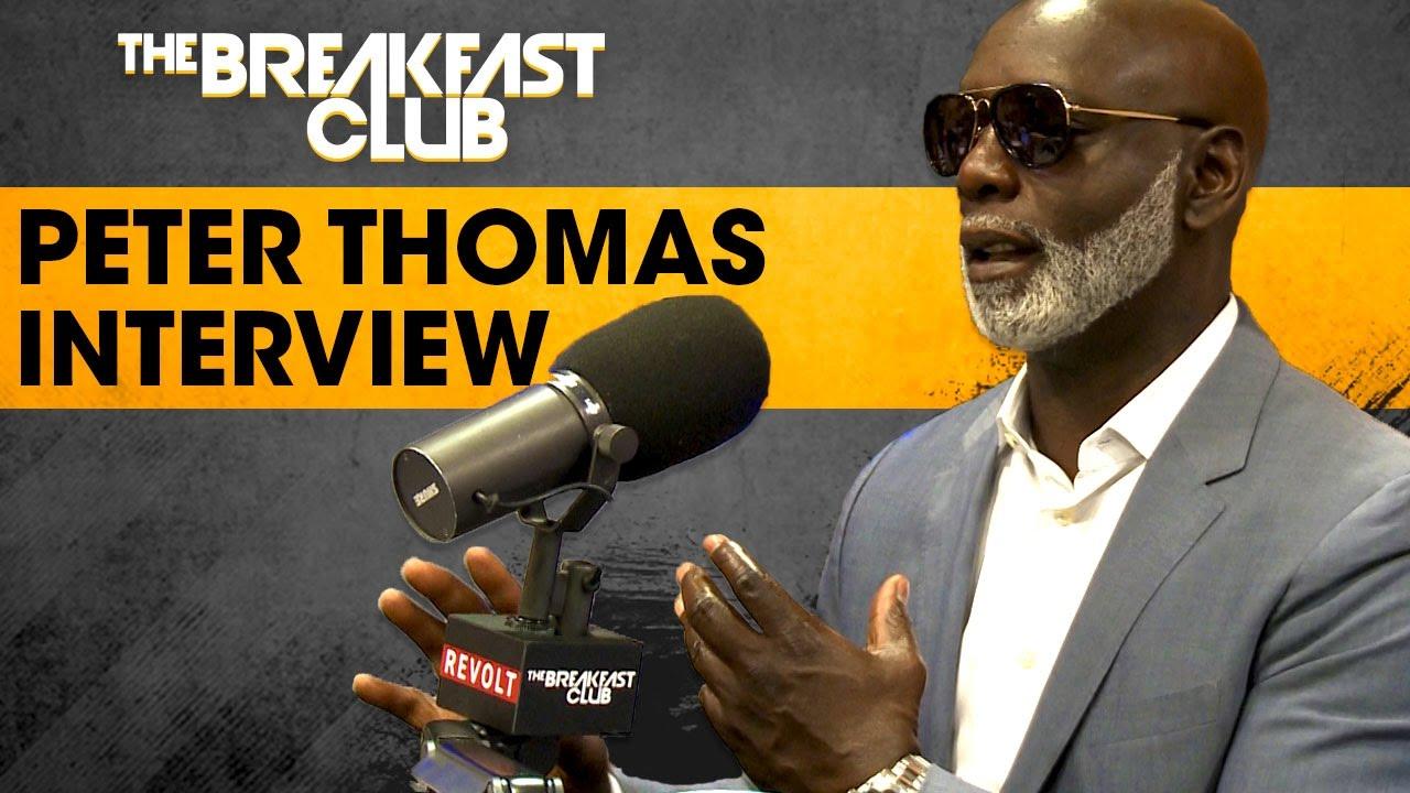 Peter Thomas Talks Brawl with Matt Jordan , Phaedra Parks