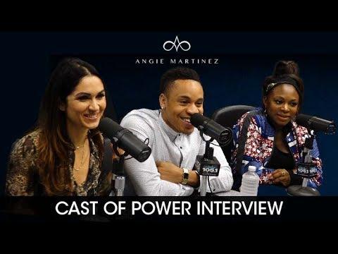 Power Cast (Lela Loren, Naturi Naughton, Rotimi) Talks Season 4 of Power with Angie Martinez #Power [Interview]