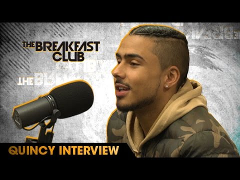 Quincy Brown From 'Star' Tv Series Drops by The Breakfast Club [Interview]