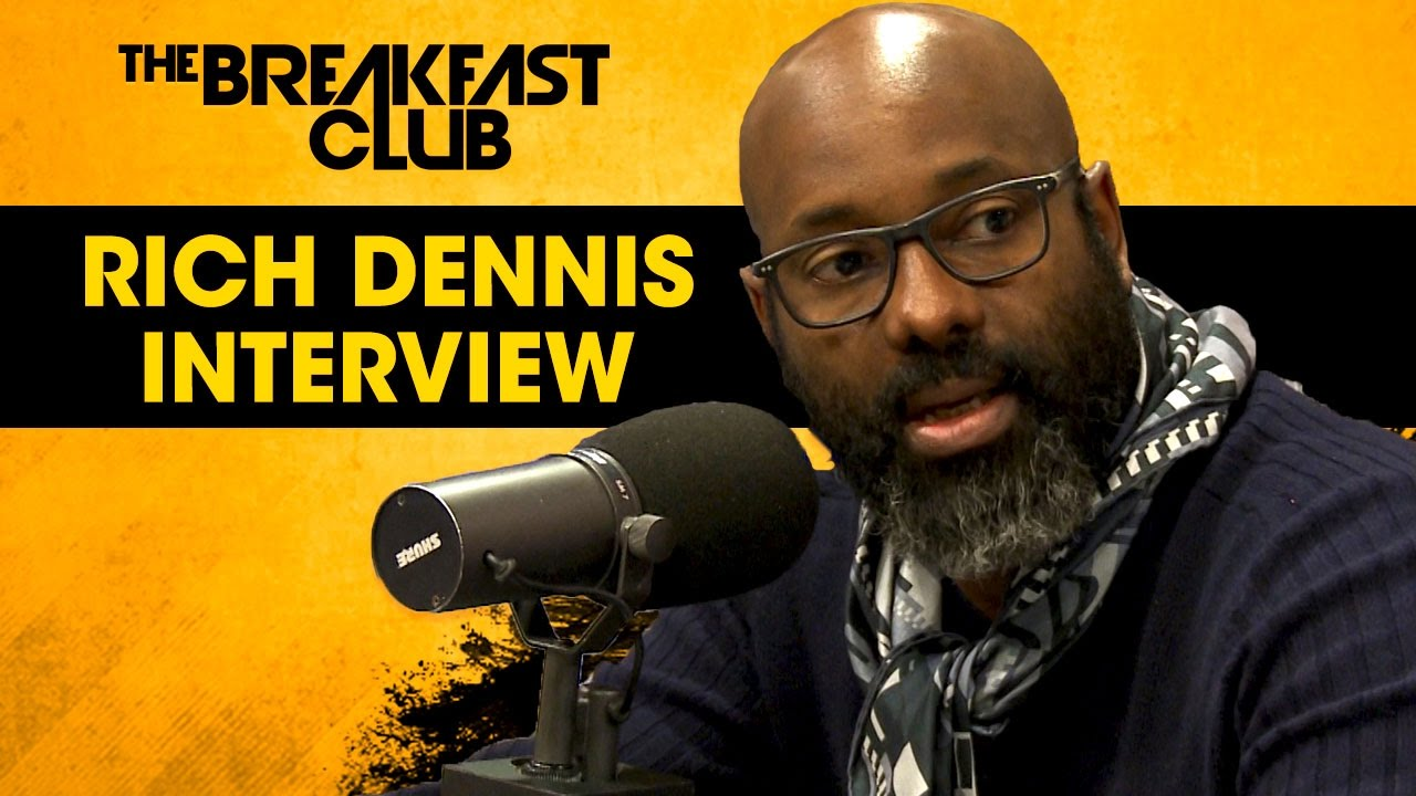 Rich Dennis (Shea Moisture CEO) Addresses The Controversial Ad on The Breakfast Club [Interview]