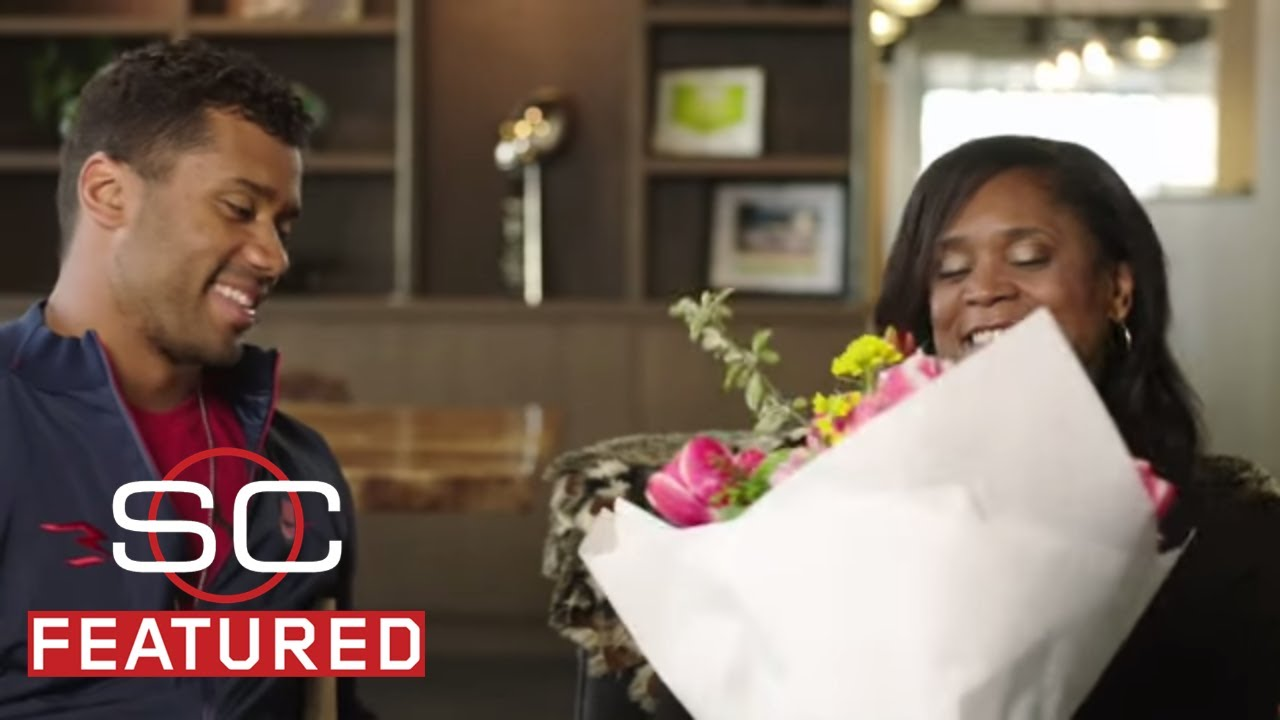 Russell Wilson Reads Mother's Day Letter To Mom