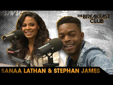 Sanaa Lathan & Stephan James Talks New Show 'Shots Fired' on The Breakfast Club [Interview]