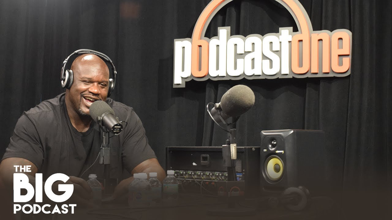 """SHAQ DROPS DISS TRACK ON HIS PODCASTONE SPORTS SHOW: """"THAT'S HOW YOU RAP, YOUNG FELLA"""""""