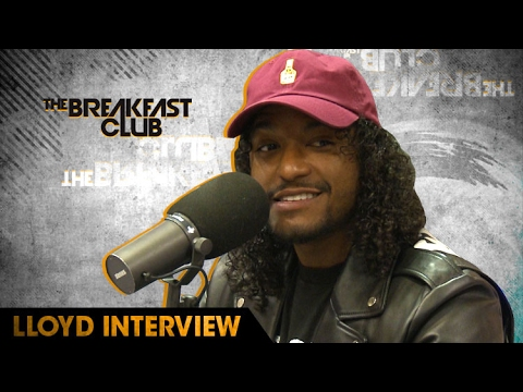 Singer Lloyd Talks Working With Lil Wayne, Rick Ross, 2 Chainz on The Breakfast Club [Interview]