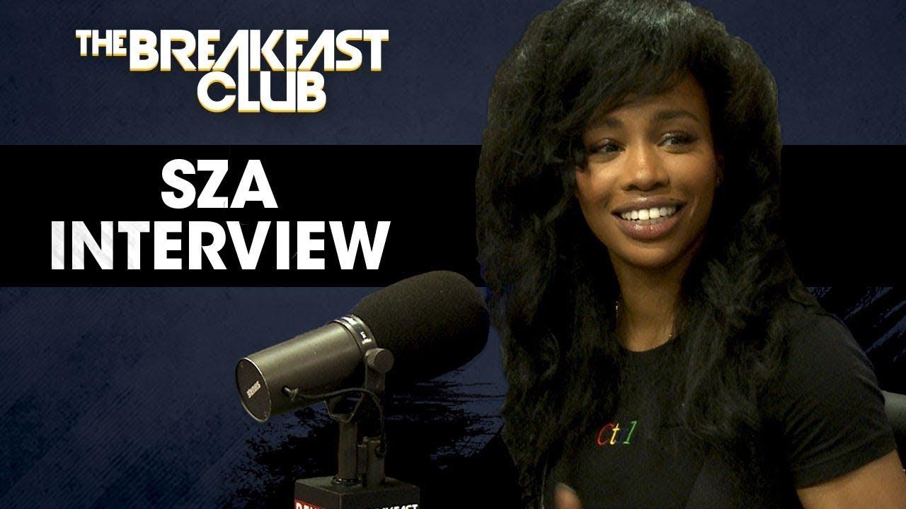"Sza talks New Album ""Ctrl"", Sidechicks on The Breakfast Club"