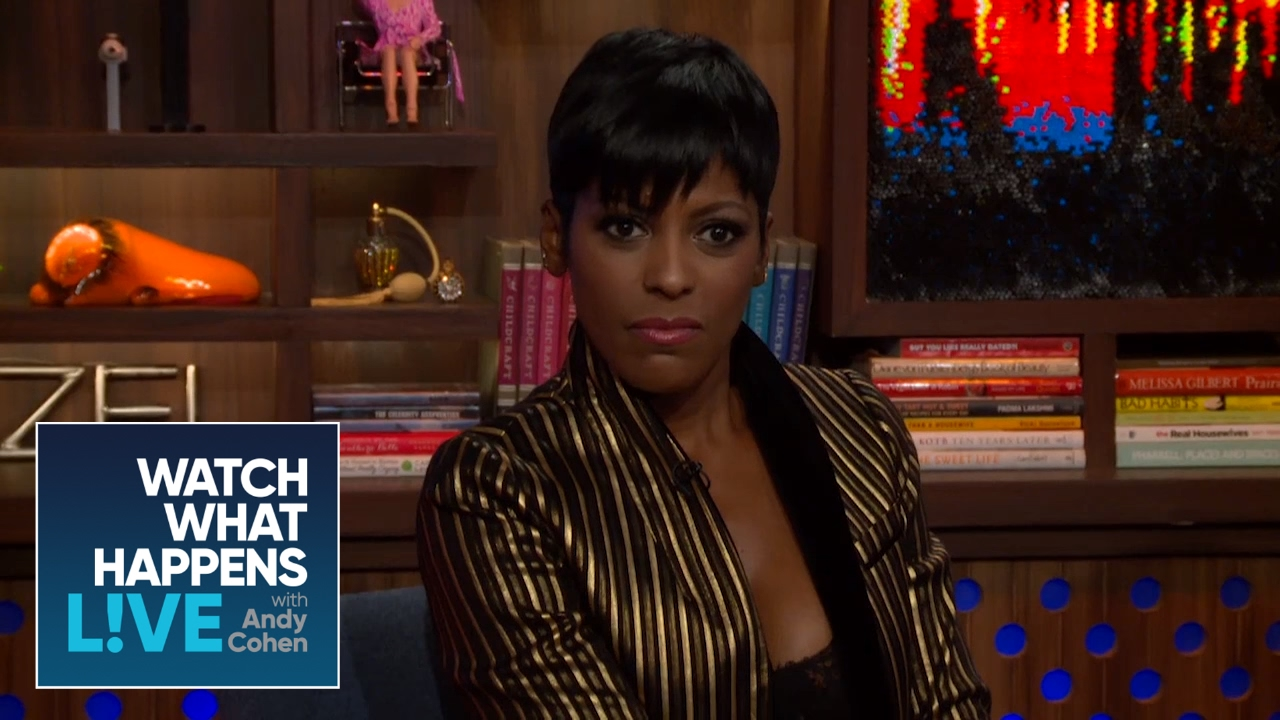Tamron Hall on her friend Prince's Death #WWHL [Interview]